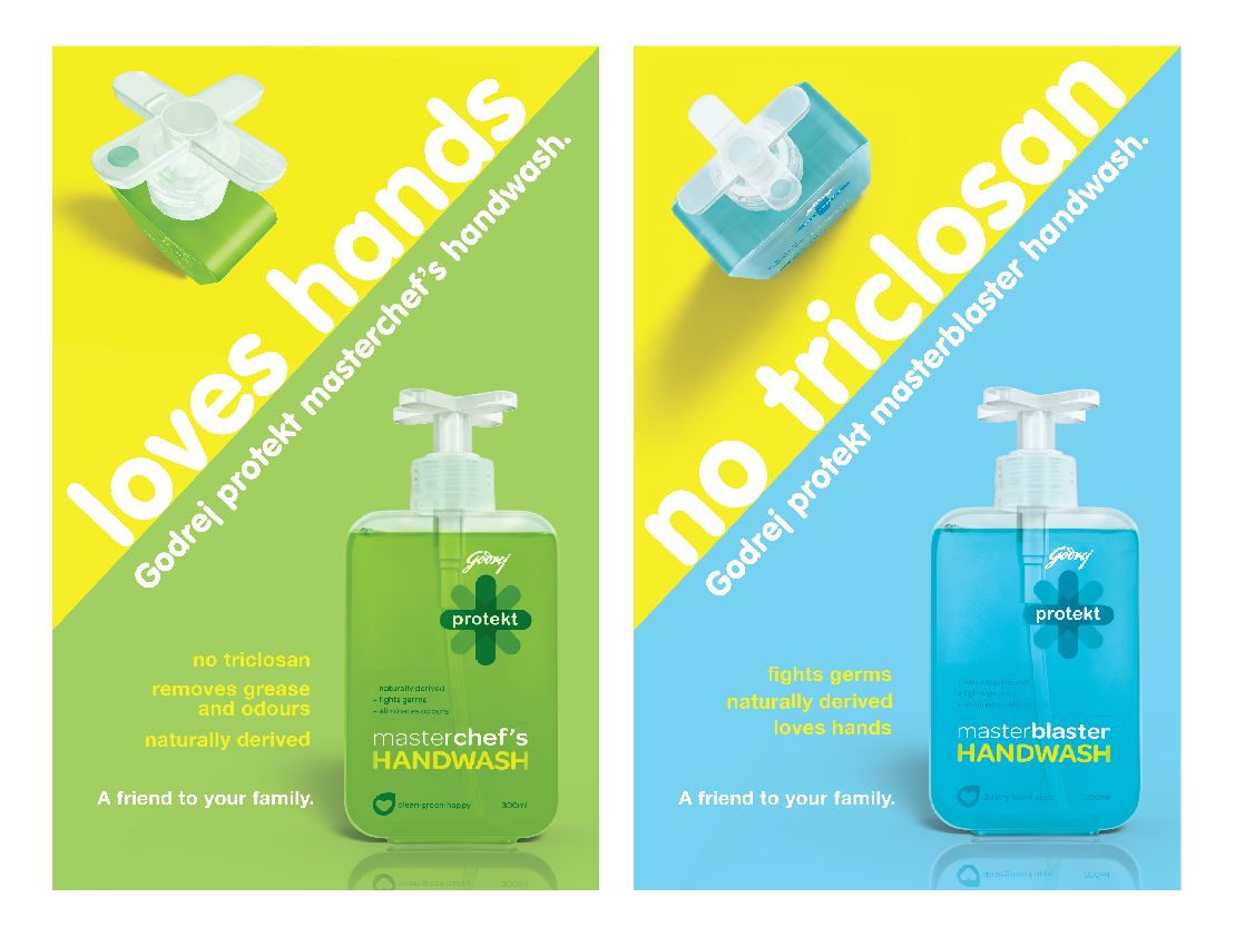 Godrej Protekt Handwash On Behance Hand Sanitizer Graphic
