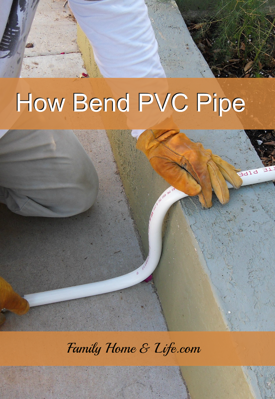 Learn How To Bend PVC Pipe The Easy Way DIY Home Improvement - Diy pvc pipe projects home