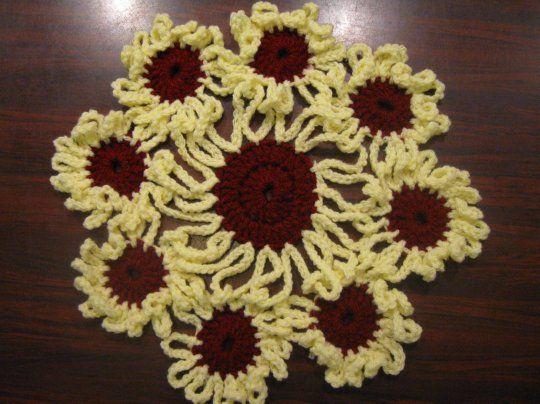 Crochet Flower Doily Meladoras Free Crochet Patterns Tutorials