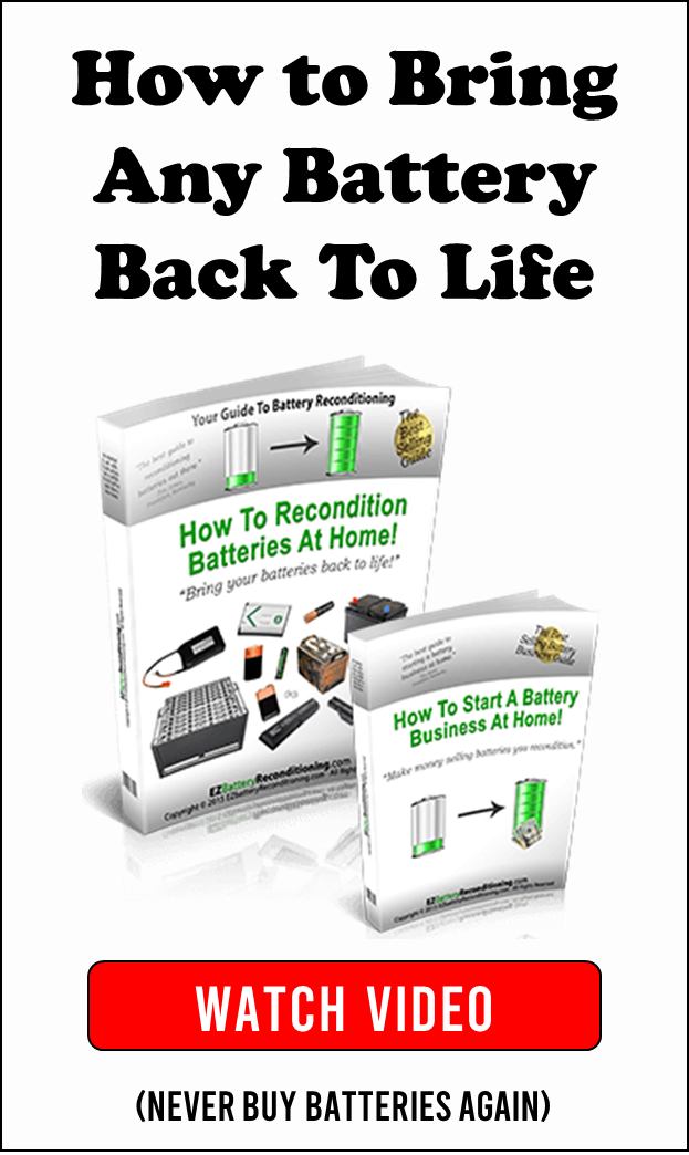 How To Bring Any Battery Back To Life Recondition Batteries Battery Repair Ryobi Battery