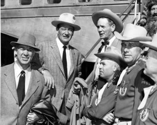 1953: John Wayne In El Paso For Premiere | John Wayne | John