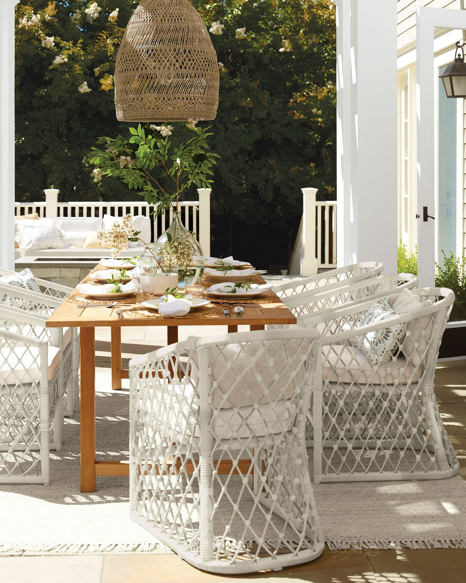 Crosby Teak Dining Tablecrosby Teak Dining Table Outdoor Dining