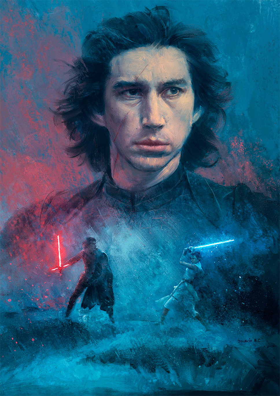 Star Wars Kylo Ren Ben Solo Starwars Kyloren Starwarsaesthetic Star Wars Art Star Wars Drawings Star Wars Fan Art