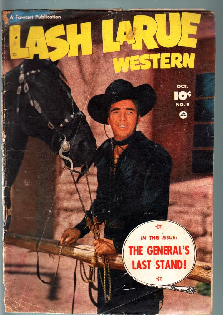 Lash Larues Horse Check Out Price Of Comic Book Old Time