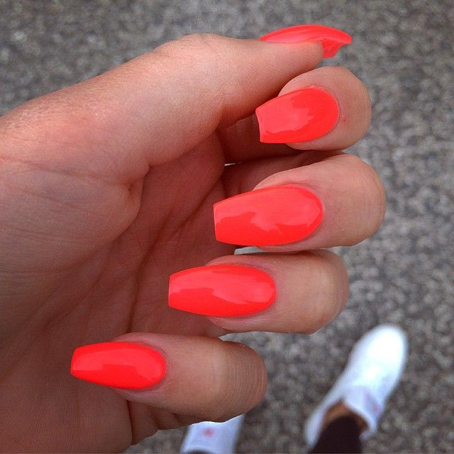 "❥ℒovenails on Instagram: ""•neonfire•…"" #autumnnails"
