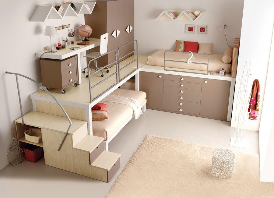 Bunk Bed Teen Bedroom Dom Bedroom Loft Cool Bunk Beds