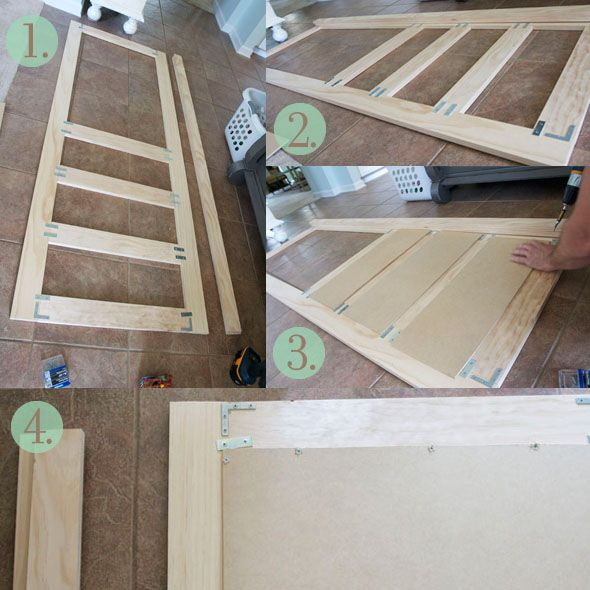 Screen Door Plans Wood With Closed Lower Panels For