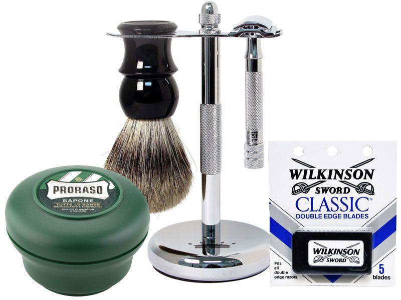 Merkur 33c beginner 5piece wet shave set royalshave