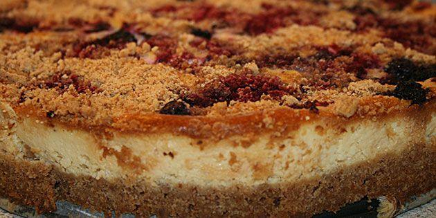 Cheesecake - lækker opskrift med Digestive kiks   Receta   recepti   Pinterest