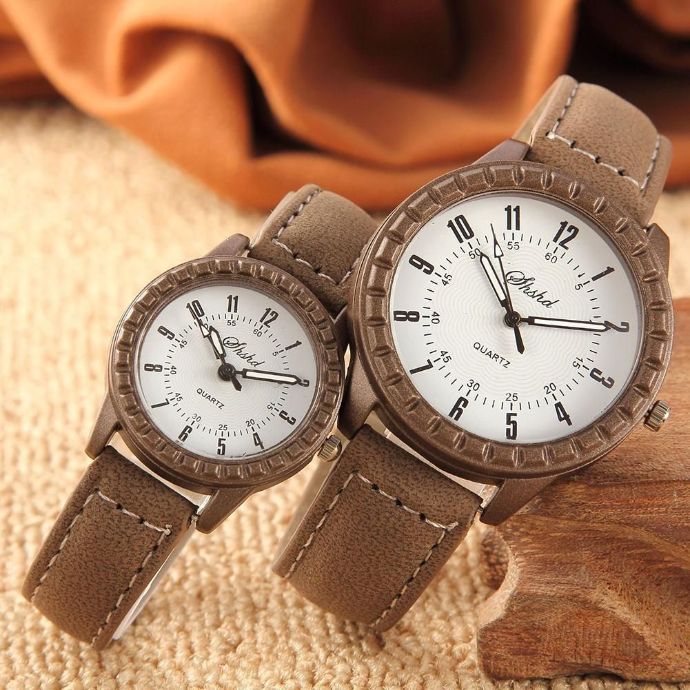 High Quality Vintage Watches Clock Arabic Numbers Round