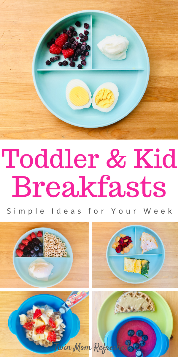 Breakfast Ideas For Toddlers And Kids Toddler Breakfast Healthy Toddler Meals Toddler Meals