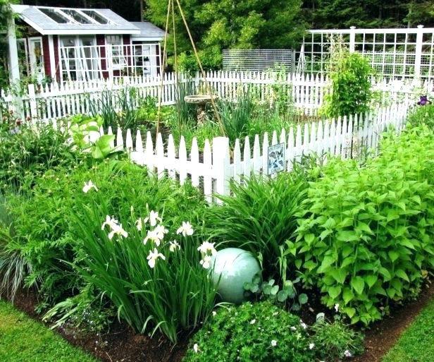 small vegetable garden fence ideas