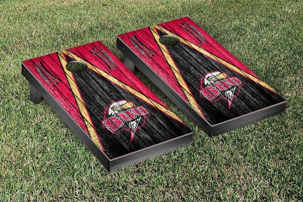 Southern Utah University Thunderbirds Reclaimed Wood w/ Triangle Bag Toss  Game Set - Southern Utah University Thunderbirds Reclaimed Wood W/ Triangle
