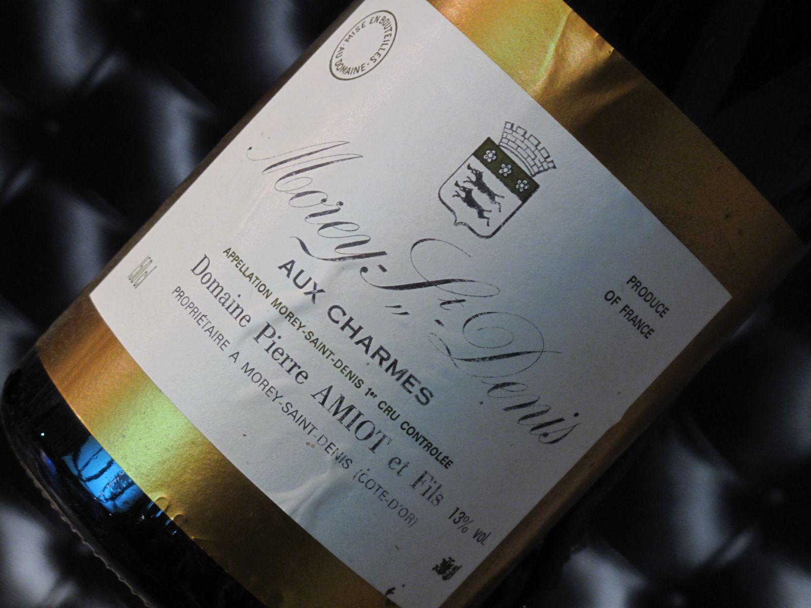 """Morey-Saint-Denis """"Aux charmes"""" 1er Cru. Domaine Pierre Amiot et fils. Vin rouge de Bourgogne #1ercru #wine #winelover"""