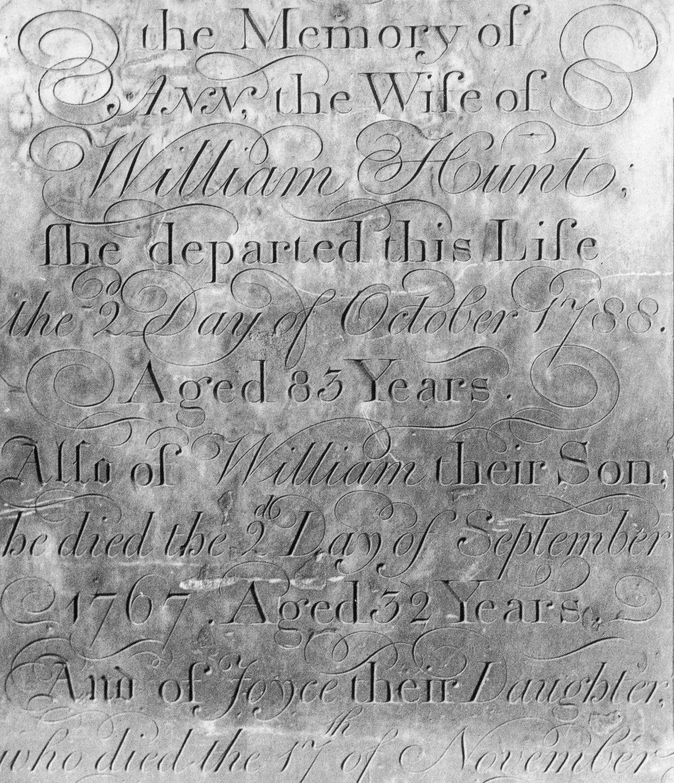 tombstone 1788