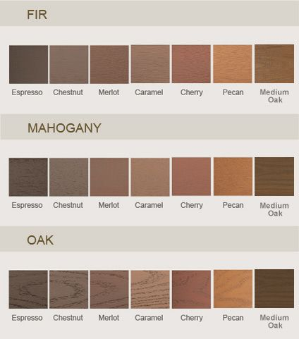 Rust Oleum Wood Stain Colors Concrete Color Chart