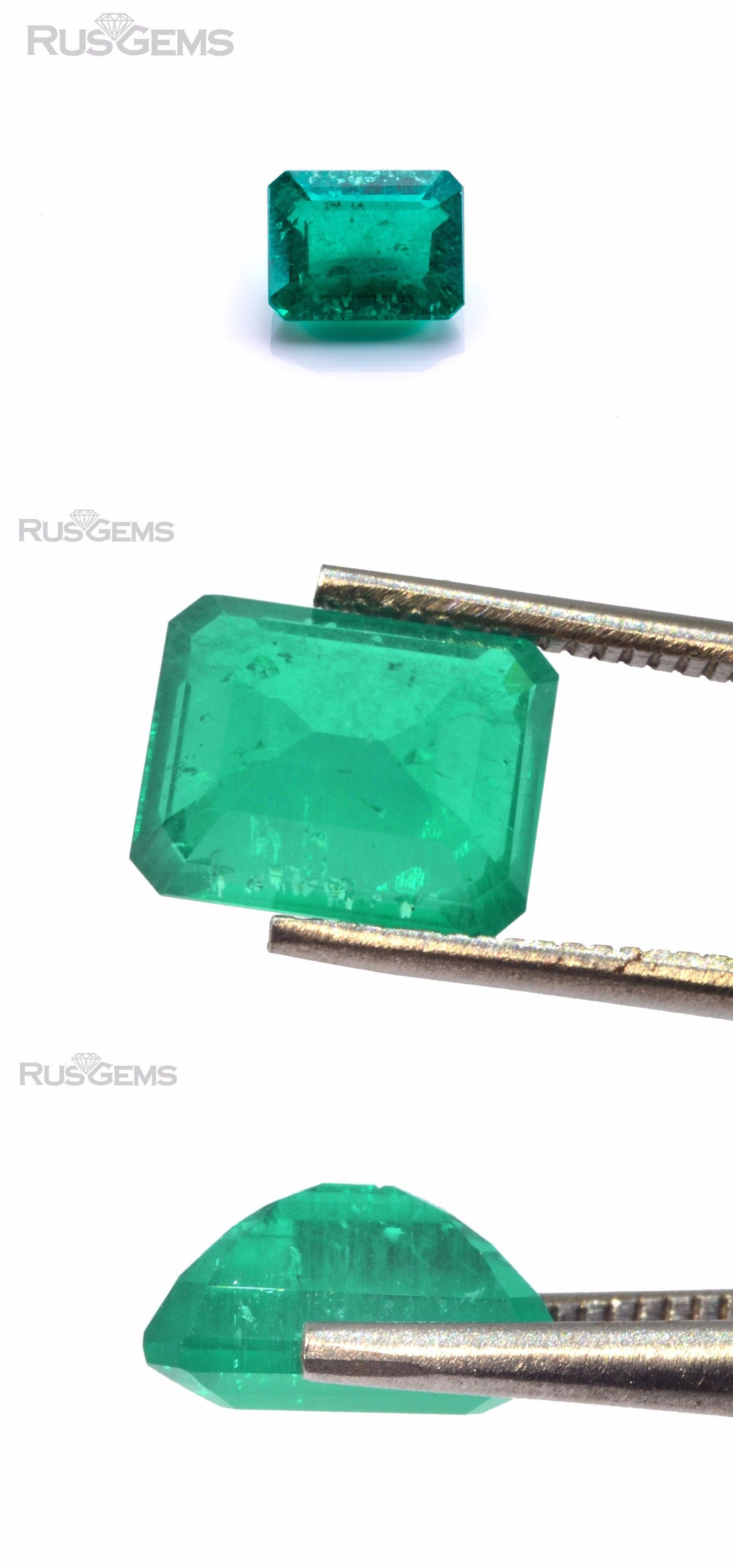 inclusions grown pin ct with emerald shape emeralds created lab