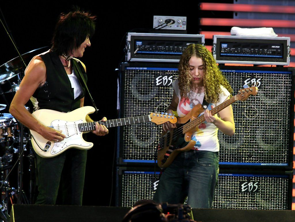 tal wilkenfeld and jeff beck relationship