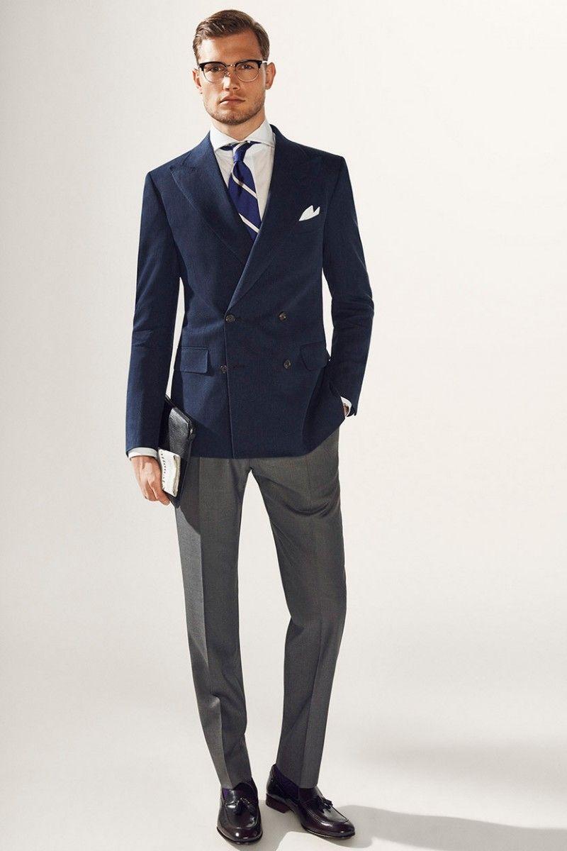 Metrosexual tight suit
