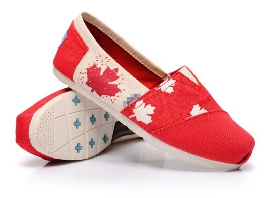 2013 Toms Red Shoes