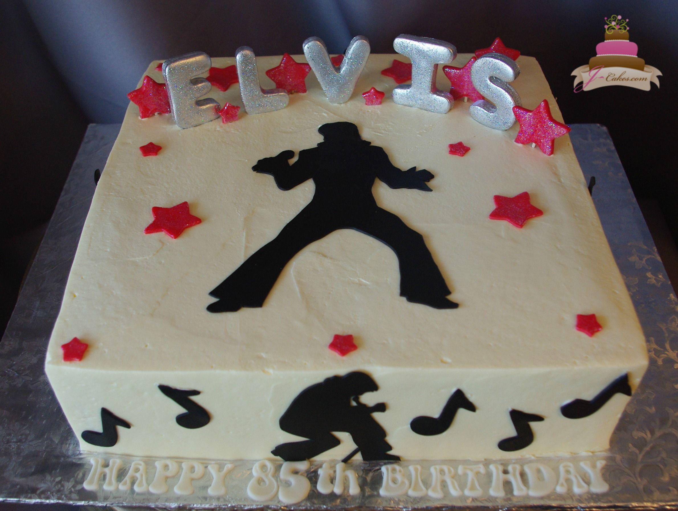 166 Elvis Birthday Cake Birthday Cakes Pinterest Elvis Cakes