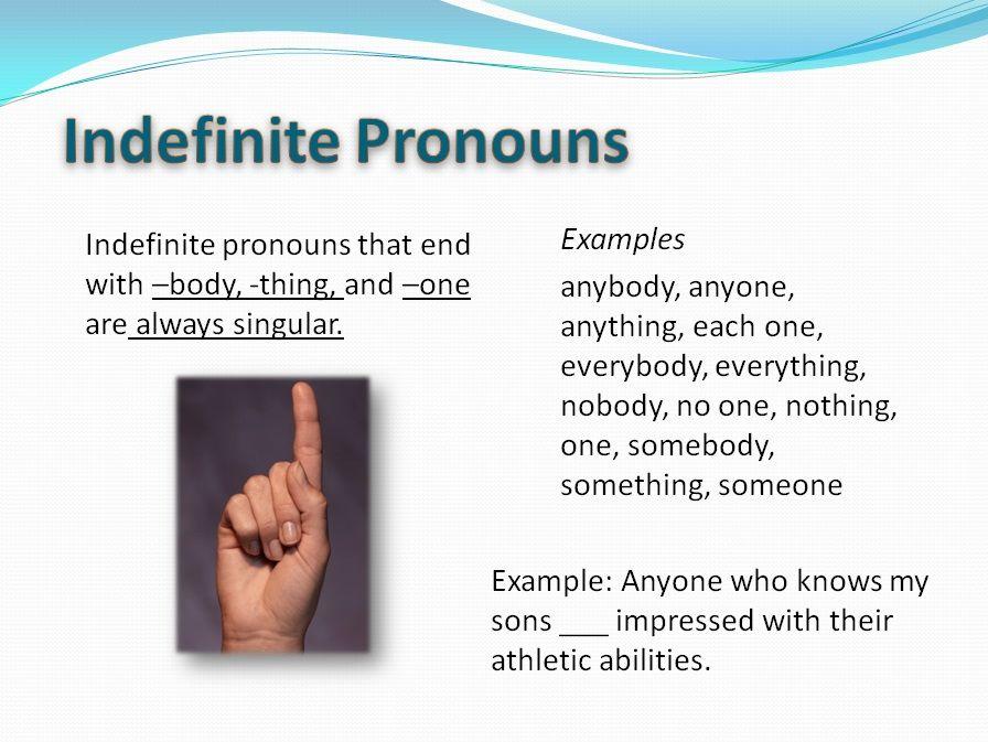 Indefinite Pronouns Worksheet Circling or Writing Part 1 – Indefinite Pronouns Worksheet