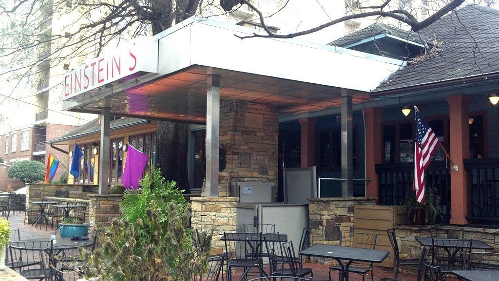 Einstein's on Juniper AtlantaMidtown. For brunch, ask the