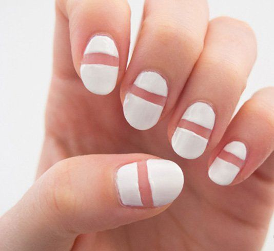 How To Create A Simple Striped Nail Art At Home Nail Art Designs
