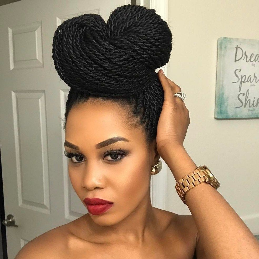 senegalese twists - 60 ways to turn heads quickly in 2019
