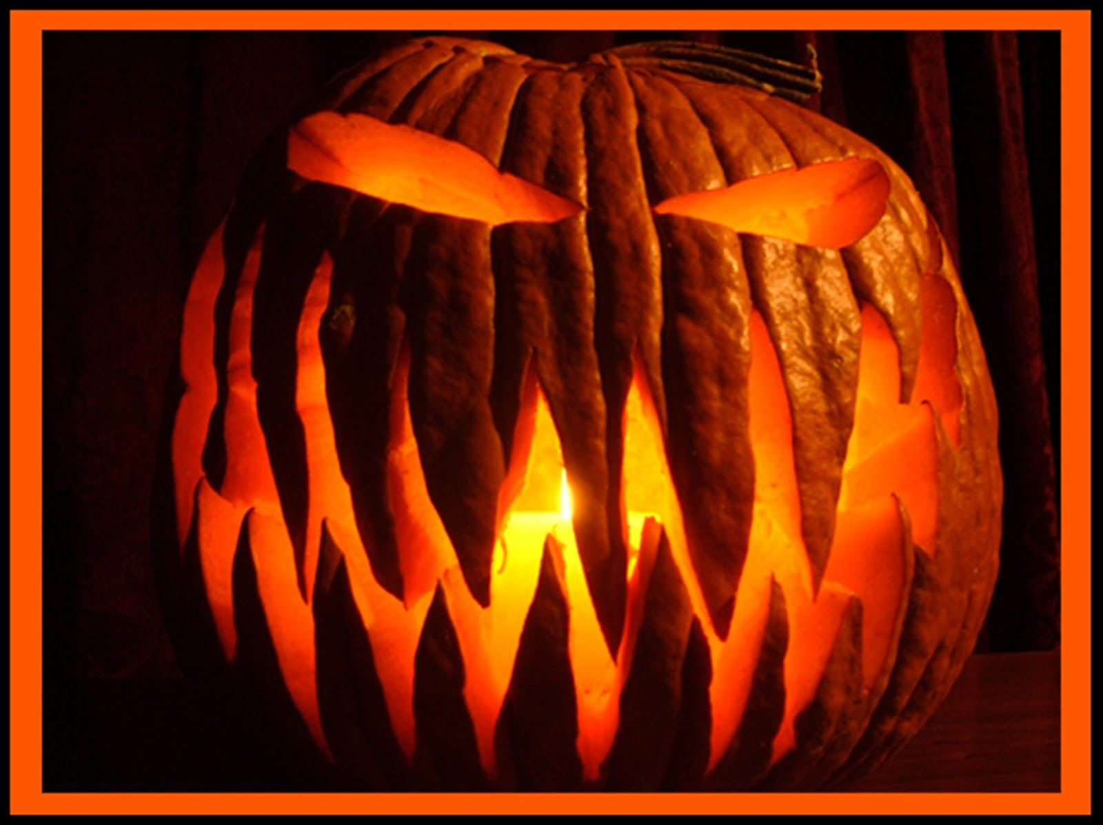 simple silly scary jack o lantern faces images pictures