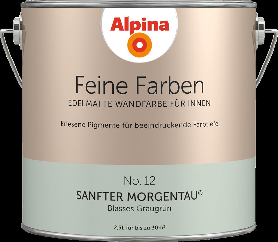 """Alpina Feine Farben No. 12 """"SANFTER MORGENTAU"""""""