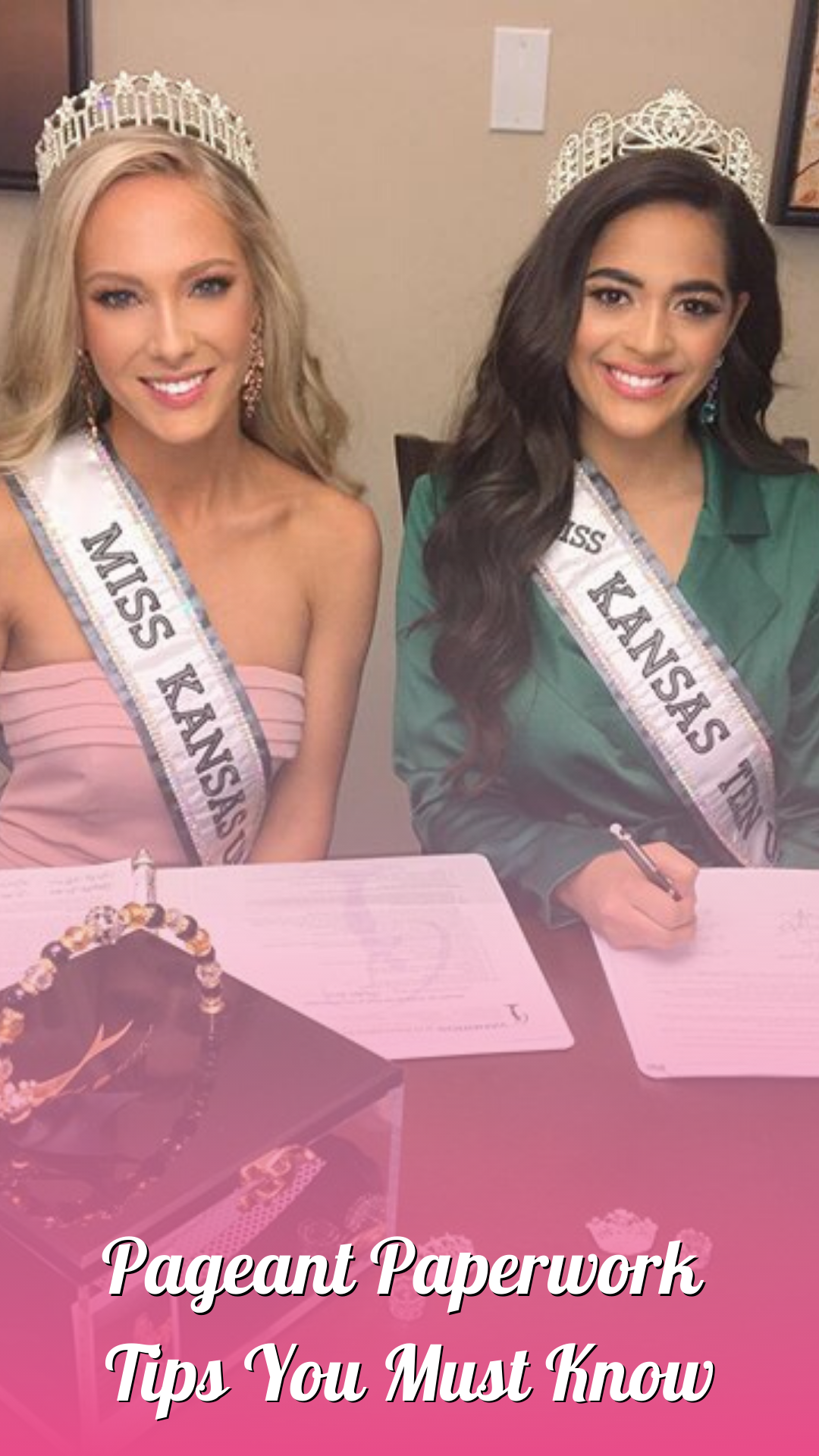 Everything That You Do In A Pageant Is About Communication Including And Especially Your Pageant Paperwork The Very First Pageant Coaching Pageant Pageantry