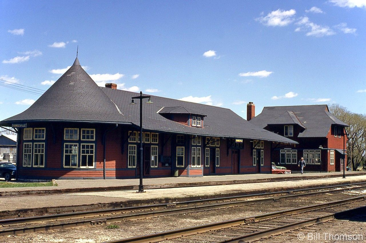 Canadian Pacific's Orangeville Station, built in 1907 and ...