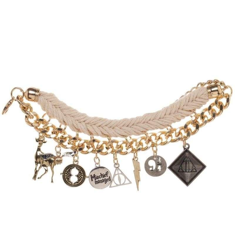 Harry potter Bracelet Charm Jewelry Womens Cosplay Prop Lady Girls Birthday