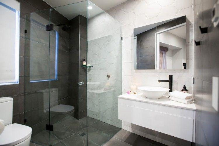 The Block 2015 Apartment 1 Part 1 Timeless Bathroom