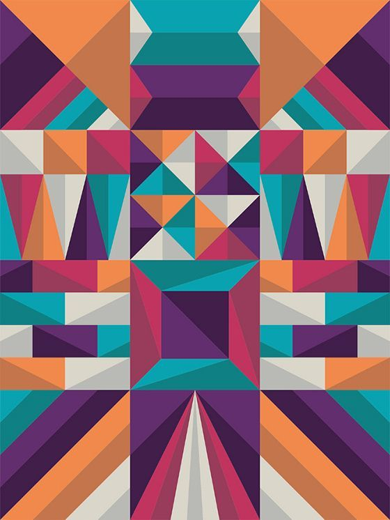 Awesome Designs Of Geometric Shapes Best Design Geometric Shapes
