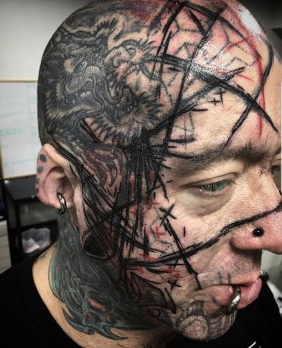 These Are the Most Regrettable Face Tattoos of All Time (With ...