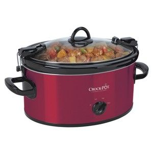 red crock pot ! @Sherry Peart