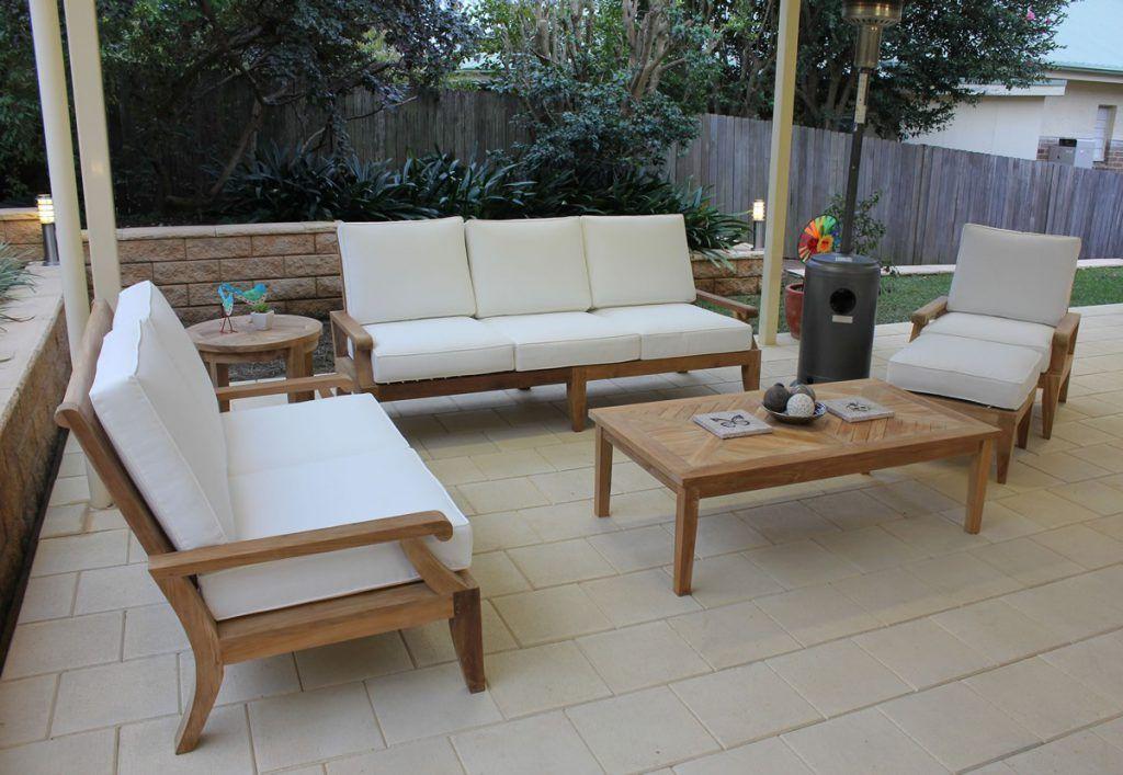 Exterior Fascinating Teak Garden Furniture Eashing Also Teak Outdoor End Table Teak Outdoor Furnitur Outdoor Lounge Furniture Outdoor Lounge Teak Chaise Lounge