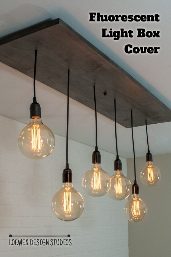 Kitchen Ceiling Lights, Replace Fluorescent Light Fixture With Chandelier