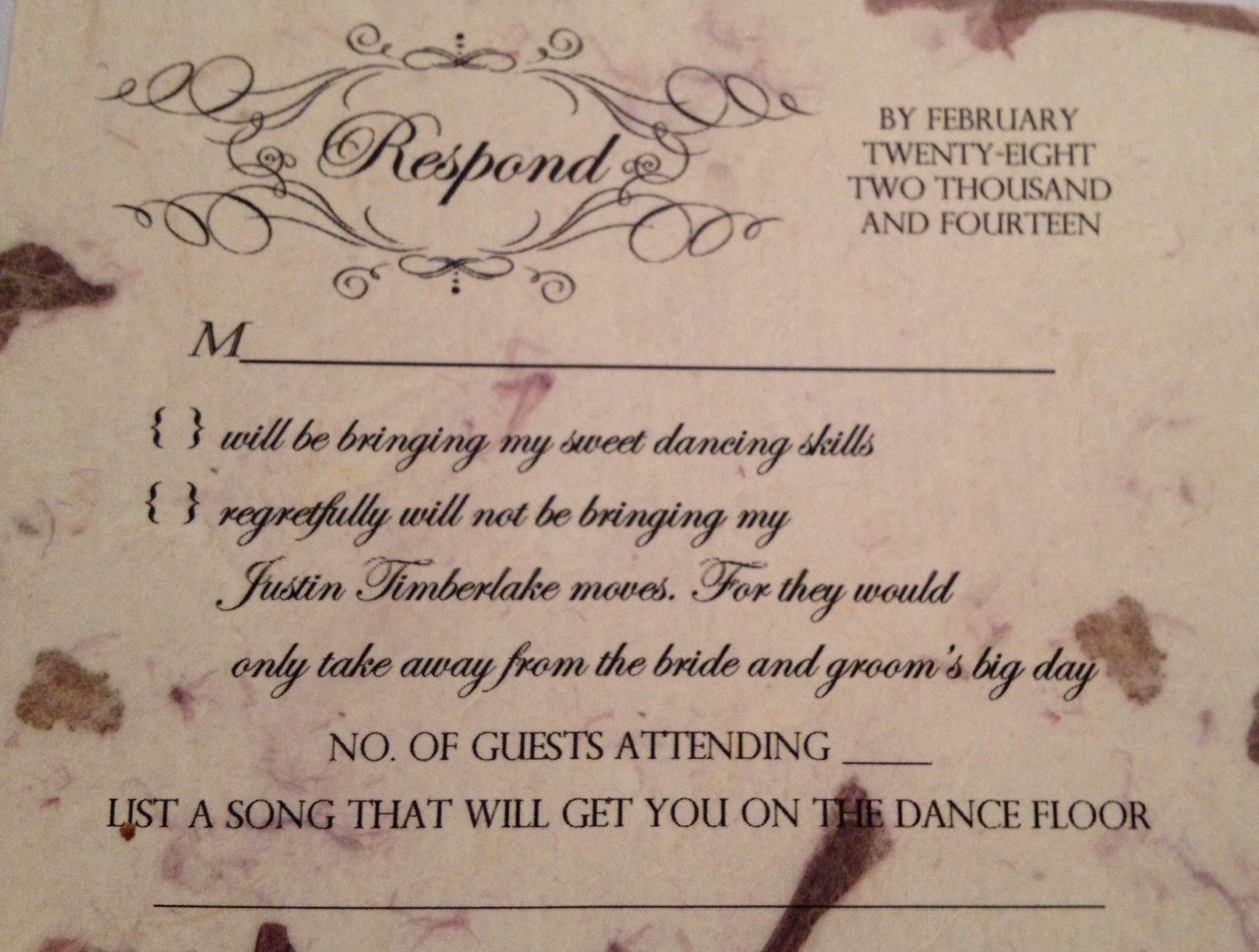 Startling Something Response Ny Wedding Rsvp Took A Week To Think Ny Wedding Rsvp Took A Week To Think Something Wedding Rsvp Cards M Wedding Rsvp Cards Samples