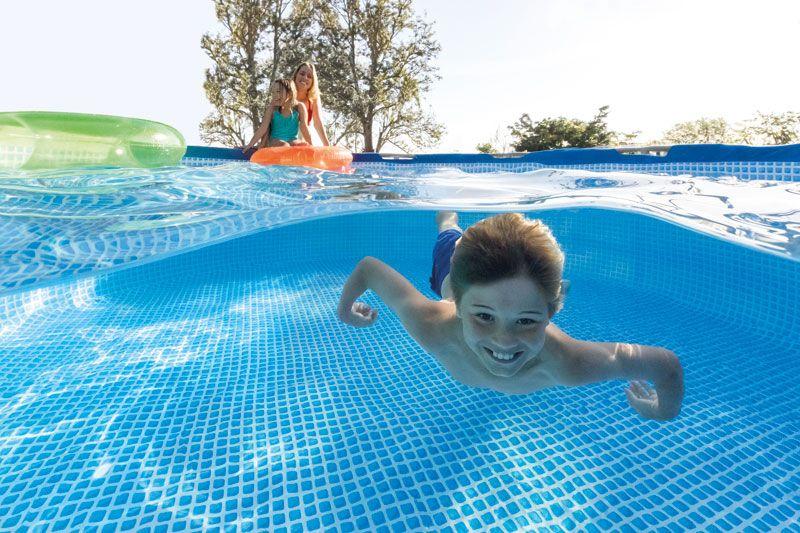 Profitez De Votre été Avec Une Piscine Hors Sol Intex Piscine - Comment nettoyer une piscine autoportee