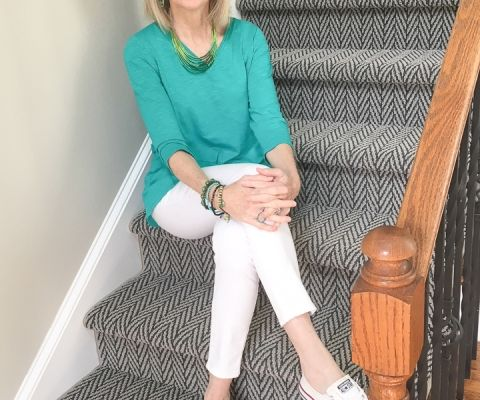 811fcd4edae8 Fashion over 50  Summer Casual White Jeans - Southern Hospitality