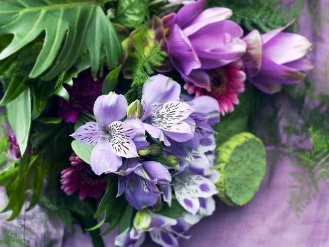 Inspiration de bouquet avec l'alstroemeria !