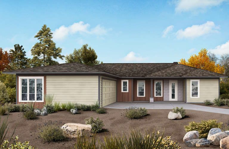 House Plan 699 Ranch Plan 1 922 Square Feet 3 Bedrooms 2 5 Bathrooms