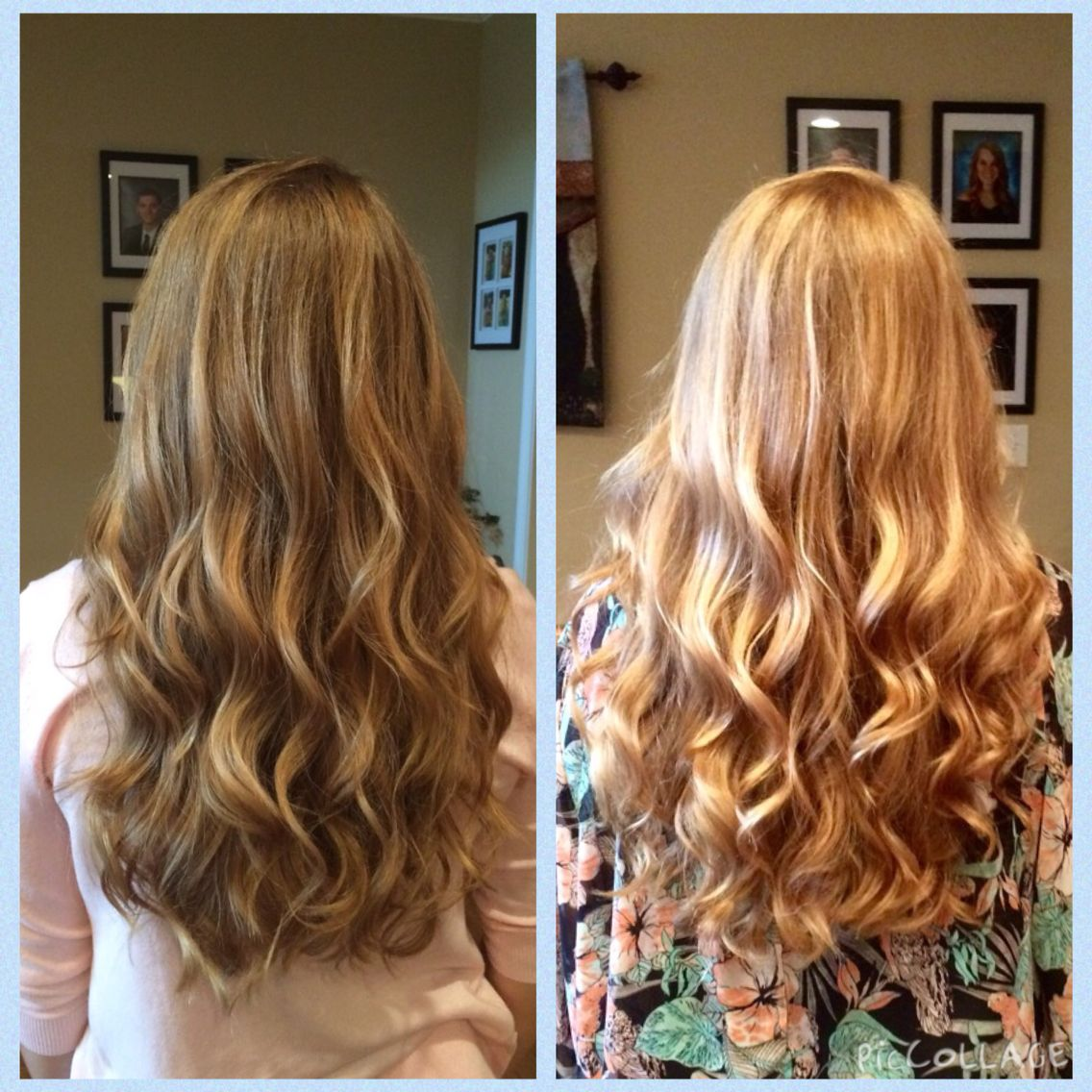 Sun In Really Works This Is A Before And After Of Just A Week Of Usage With A Blow Dryer I Would Not Rec How To Lighten Hair Lighten Hair Naturally