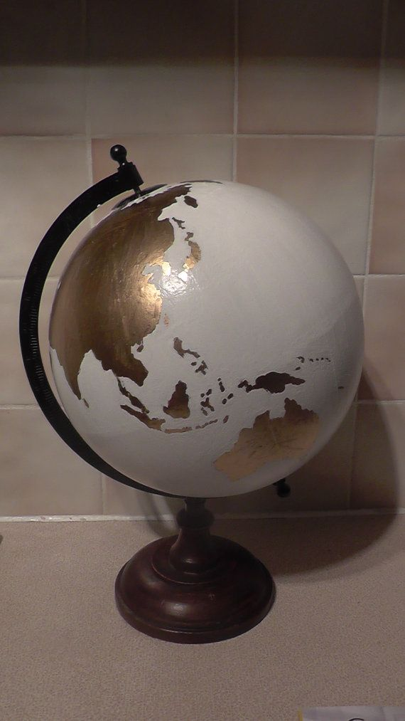 hand painted globe wedding guest book wedding ideas pinterest g stebuch hochzeit. Black Bedroom Furniture Sets. Home Design Ideas