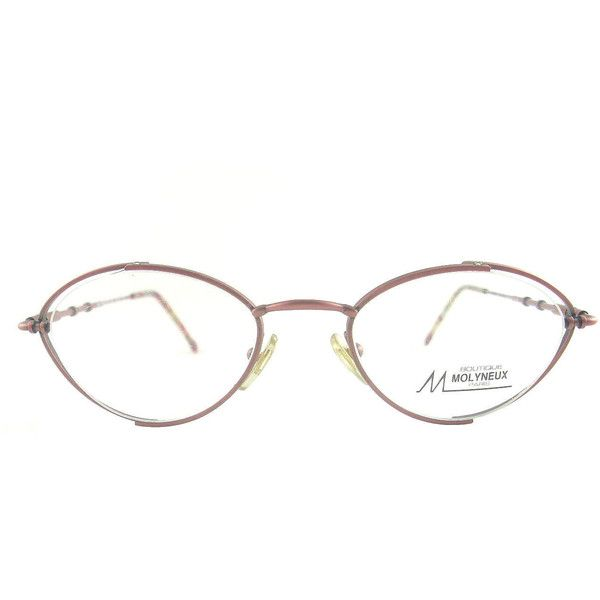 Vintage Molyneux Boutique Paris Glasses Eyeglasses Sunglasses New... ❤ liked on Polyvore featuring accessories, eyewear, eyeglasses, lens glasses, molyneux, antique glasses, vintage eyeglasses and antique eye glasses