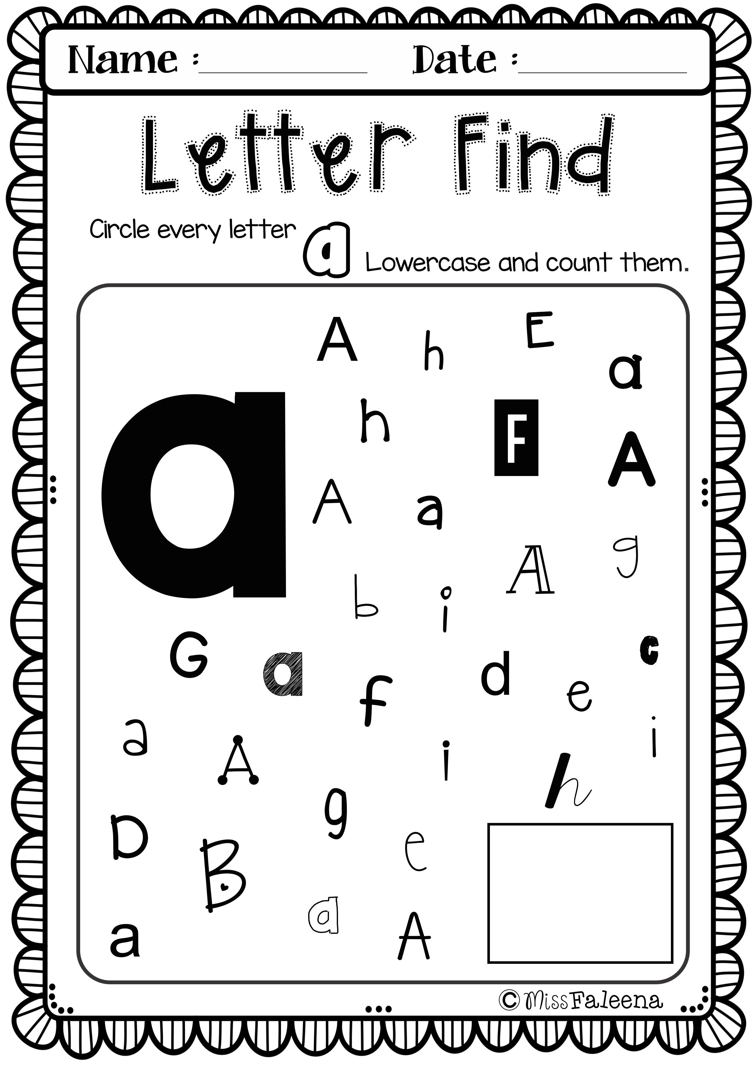 Free Alphabet Letter Of The Week A Lettering English Games For Kids Lettering Alphabet