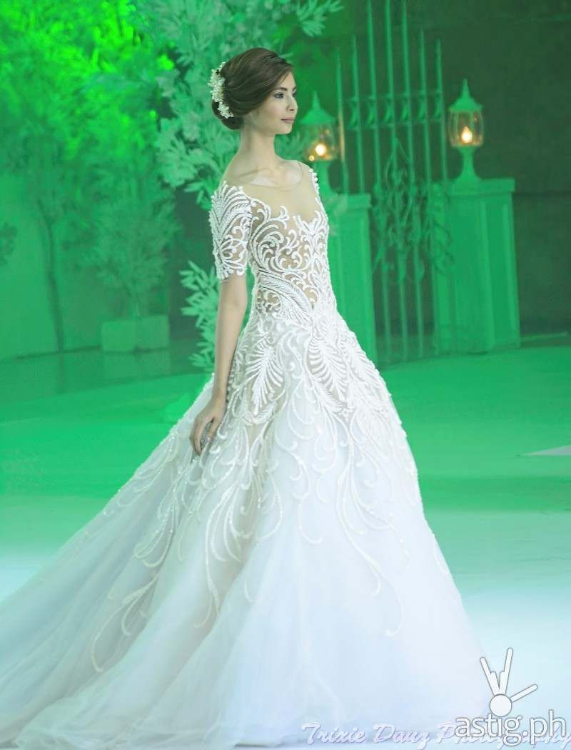 Wedding Gown By Francis Libiran At Marriott Hotel Manila Marry Me